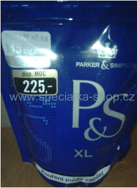 Cigaretový tabák P&S 65g blue
